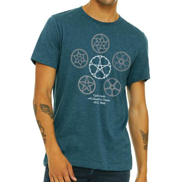 The Hive Printing Vintage Cogs T-Shirt