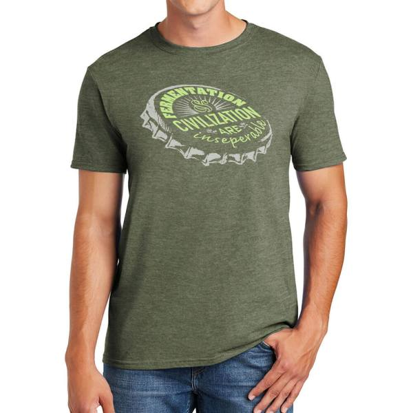 The Hive Printing Fermentation Unisex T-Shirt