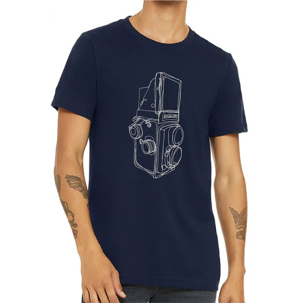The Hive Printing Rolleicord Camera Unisex T-Shirt