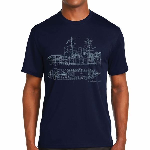 The Hive Printing Unisex Ship T-Shirt