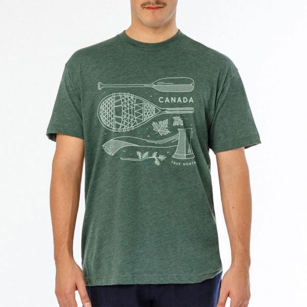 The Hive Printing True North Unisex T-Shirt